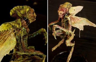 Хора с крила и змийски опашки в лондонски музей