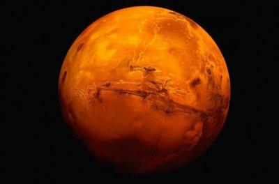 Откриха тръби с лава на Марс
