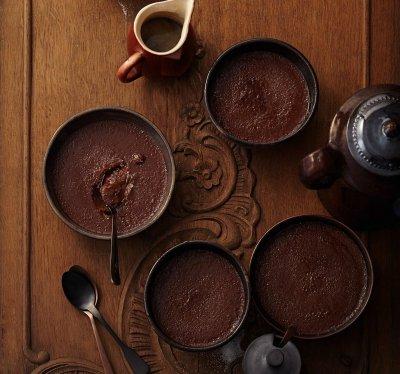 Шоко крем брюле с кафе