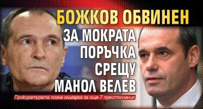 Божков обвинен за мократа поръчка срещу Манол Велев