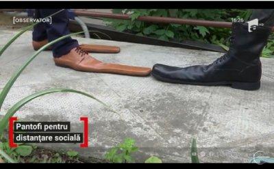 УНИКАЛНО! Обувки №70 за социална дистанция
