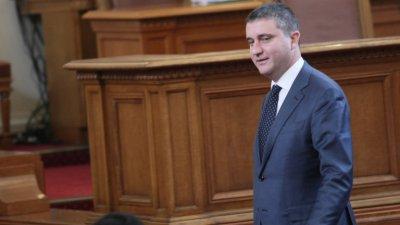 Препитват Горанов за хазарта в парламента