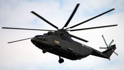 Хеликоптер се разби в Чукотка, 4-ма загинаха