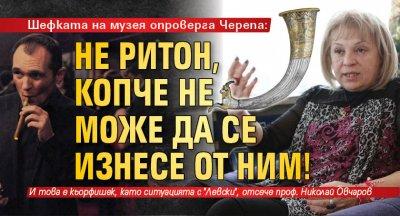 Шефката на музея опроверга Черепа: Не ритон, копче не може да се изнесе от НИМ!