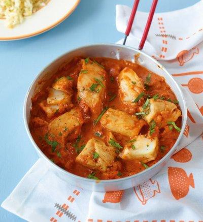 Рибa в доматен сос с риган