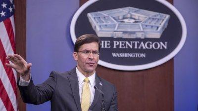 Шефът на Пентагона против разполагане на армията по улиците на САЩ