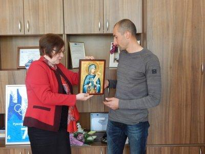 Кметът на Троян прие и награди Спортист №1