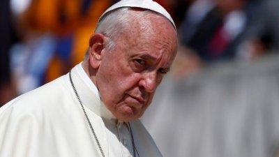 Папата: Насилието не е отговор на расизма
