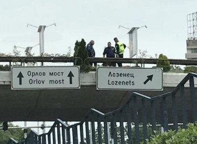"""МЪЛНИЯ! Самоубийца на """"Моста на влюбените"""""""