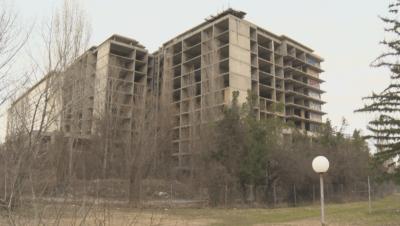 Събарят сградата на бъдещата детска болница