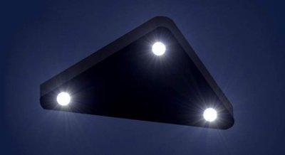 Триъгълно НЛО заснето над САЩ