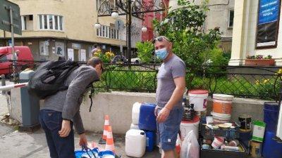 1 тон опасни отпадъци предадени в мобилен пункт в София