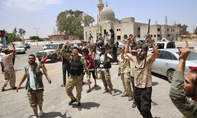 Правителството изтласка армията на Хафтар от Западна Либия