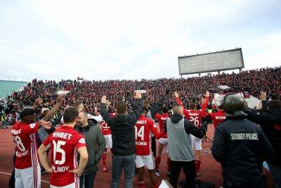 ЦСКА набляга на чужденците