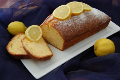 Лимончело пясъчен кейк