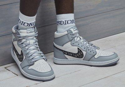 Dior и Nike пускат маратонки за $2000