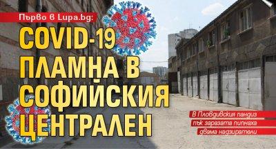 Първо в Lupa.bg: COVID-19 пламна в Софийския централен