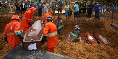 COVID-19 продължава да трепе наред в Бразилия
