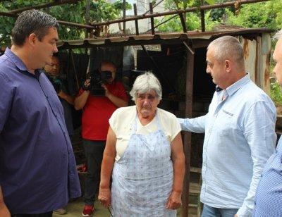 Арестуваха изроди, тормозили и обрали възрастна жена в Белово