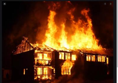 Жесток пожар в София