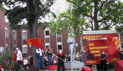 Уникум: В Германия вдигнаха статуя на Ленин