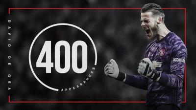 Юнайтед се издъни в мач номер 400 на Де Хеа