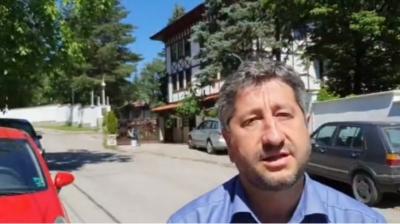 Христо Иванов се разходи и до Боянските сараи