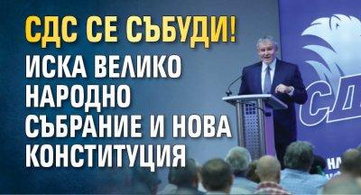 СДС се събуди! Иска Велико Народно събрание и нова Конституция