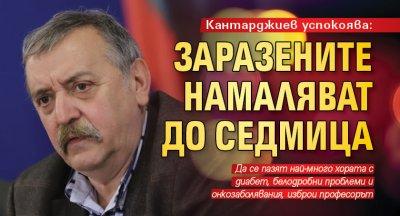 Кантарджиев успокоява: Заразените намаляват до седмица