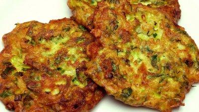 Кюфтета от месо със зеленчуци и моцарела