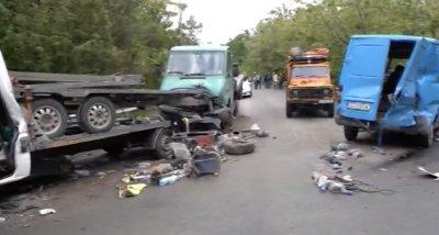 Две тежки катастрофи блокираха пътя за Дунав мост 2