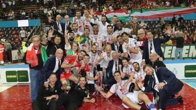 Волейболният национал Цецо Соколов стана шампион на Италия (ВИДЕО)