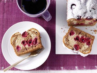 Мраморен кекс с вишни или череши (стъпка по стъпка)