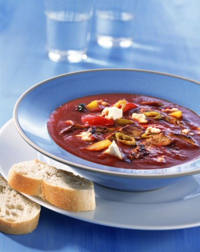 Lupa.bg в Гърция: Гирос доматена супа