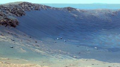 НАСА показа Марс отблизо