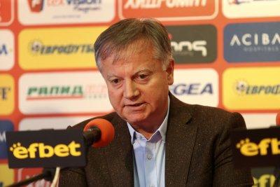 Инджов: Няма проблем за финансирането, ако се разберем за стадиона