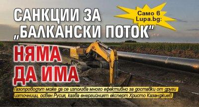 """Само в Lupa.bg: Санкции за """"Балкански поток"""" няма да има"""