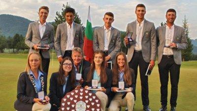 Българките спечелиха европейска титла в голфа