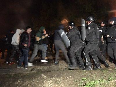 Нова МВР агресия срещу протестиращ