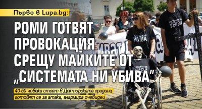 """Първо в Lupa.bg: Роми готвят провокация срещу майките от """"Системата ни убива"""""""