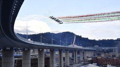 Откриха новия мост в Генуа