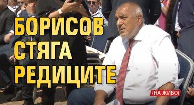 Борисов стяга редиците (НА ЖИВО)