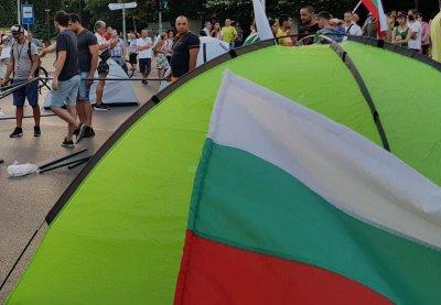 """Протестиращи блокираха АМ """"Марица"""" (ВИДЕО)"""