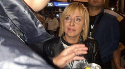 Изгониха Мая Манолова от протеста