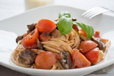 Спагети с гъби по тоскански