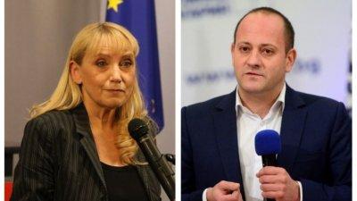 Радан и Елена Йончева с общ фронт в ЕП заради кризата у нас