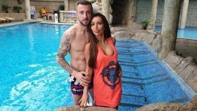 """Футболистът Мартин Тошев се ожени за сексбомба от фонд """"Земеделие"""""""