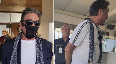 Арестуваха компютърен магнат — носил дантелени прашки вместо маска за лице