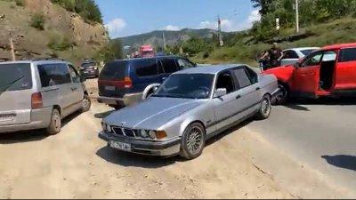 Тапата на Калотина заради протеста е 15 километра