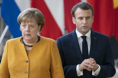 Меркел отива при Макрон в резиденцията му